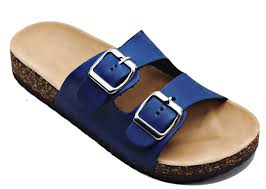 amazon com women soft foam cork sandal footbed double strap flat