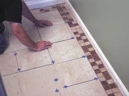 Floor Tile Installers Beautiful How To Install Bathroom Floor Tile How Tos Room Lounge