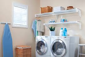 Laundry Room Storage Between Washer And Dryer by Home Ez Shelf