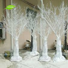 white branches for wedding white potted wedding tree 4 foot