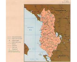 map western europe cities maps of albania detailed map of albania in tourist map