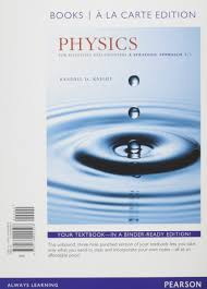 physics for scientists and engineers books a la carte plus