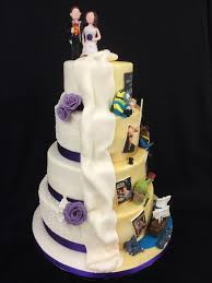 bespoke wedding cakes half and half bespoke wedding cake cakes for all uk