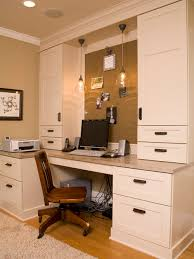Home Office Cabinet Design Ideas - built in home office designs classy design office desks for home