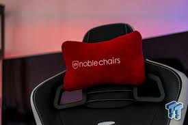 Leather Gaming Chairs Noblechairs Epic Real Leather Gaming Chair Review