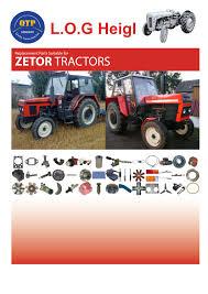 8 zetor log heigl by quality tractor parts issuu