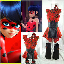 halloween boot covers miraculous ladybug marinette top high low skirt waist
