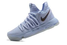 2017 new released nike kd 10 anniversary faint blue multi
