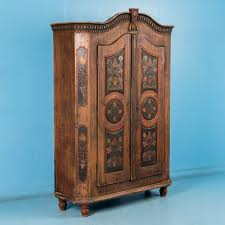 White Vintage Armoire Scandinavian Antiques Antique Furniture For Sale European Antiques