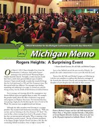 michigan memo 2013 april by michigan conference of seventh day