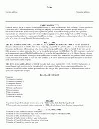 Resume Objective For Analyst Position Download Hr Resume Samples Financial Analyst Resume Sample Credit