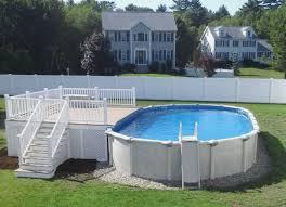 modern pools folding slide pool track above ground swimming pool