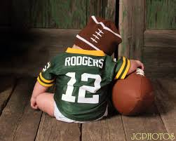 bay bay baby green bay packer baby photo lets just add pony tails to this