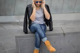 womens boots timberland style wearing timberland boots with fantastic minimalist