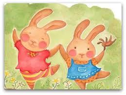 rabbit rabbit my children and their rabbit rabbit days the choosing of