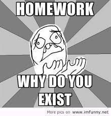 Homework Meme - meme homework