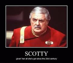 Scotty Meme - scotty reasons things out in friday s child scotty james doohan