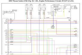nissan sentra gxe 2003 need a pinout for ecu u0026 tcu qg18 vvt