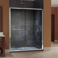 Clear Glass Shower Door by Installing New Frameless Sliding Shower Doors John Robinson