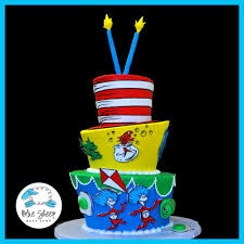 dr seuss cakes dr seuss birthday cake blue sheep bake shop