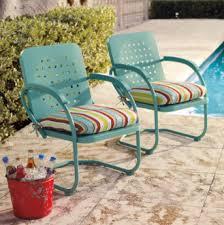 Antique Metal Patio Chairs Impressive Retro Metal Patio Furniture Outdoor Furniture Idea