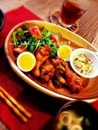 bureau ch麩e tibitaityouさんの鶏手羽元のパイナップルジュース煮 切り干し大根と
