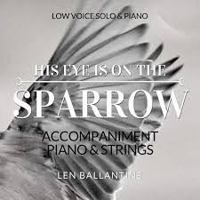 his eye is on the sparrow accompaniment track piano strings