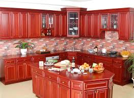 Kitchen Cabinets Cherry Finish Modular Kitchens Hyderabad Custom Office Furniture Triadinterio