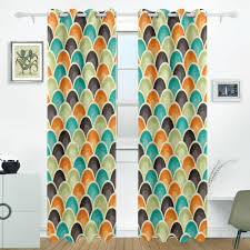 Retro Curtains Get Cheap Geometric Retro Curtain Aliexpress Alibaba