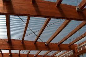 coperture tettoie in pvc tettoia in legno con copertura in policarbonato carate brianza