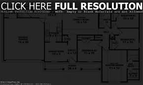 apartments house plans 4 bedroom 1 story simple bedroom house