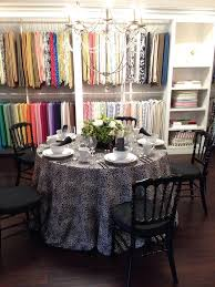 renting table linens 33 best our showrooms images on linens showroom