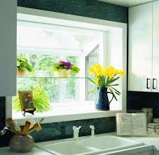 kitchen with white undermount sink and garden window featured kitchen with white undermount sink and garden window featured