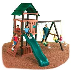 slides for wooden playsets playsets swing sets at lowes playsets