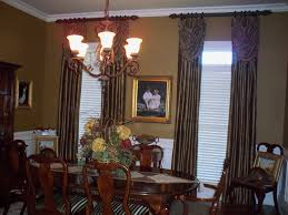 dining room panels with swag overlay c ryan designs