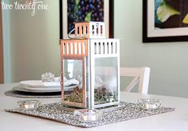 simple holiday table setting two twenty one