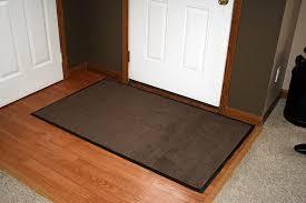 Hardwood Floor Mat Flooring Entrance Floor Mats In Brown With Laminate Wood Floor