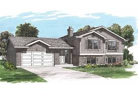 bi level floor plans with attached garage eplans split level house plan of livability 1449 square