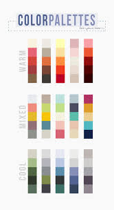 how to choose a color palette that won u0027t drive you insane types