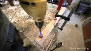 finehomebuilding com video extra fastening a fitting to a rail fine homebuilding
