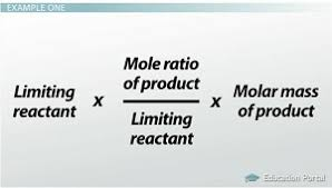 limiting reactants u0026 calculating excess reactants video u0026 lesson