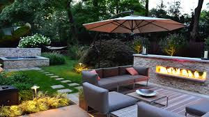 Landscaping Pictures Of Backyards Download Patio Landscape Ideas Solidaria Garden