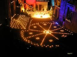 composizione di candele la notte delle candele tra musica danza arte e poesia rb