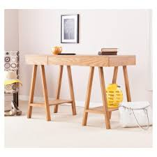 Modular Home Office Furniture Home Office Simple And Chic Home Office Furniture Of Light Pine