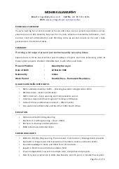 quantity surveyor cover letter