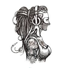 new tattoo hd images 2017 new body art hd large tattoos sticker sexy assassin women gun