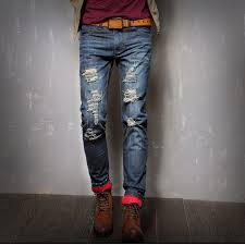 Ripped Denim Jeans For Men Denim Jeans Online For Men Jeans To