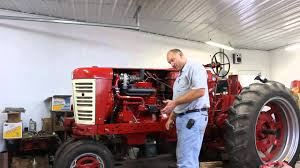 450 farmall gas with a turbo part 1 youtube