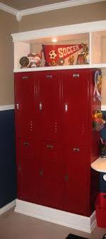 cheap kids lockers my boys this look in their room cool and easy to do in