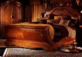 luxurious wooden bed design furniture ideas deltaangelgroup